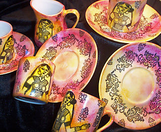 Indian Princess Tea Set